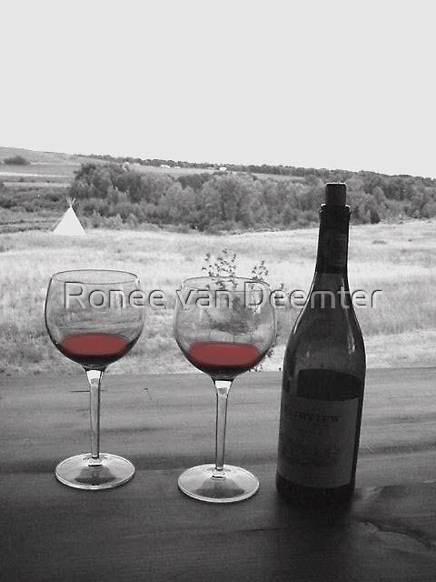 Merlot in Montana by Ronee van Deemter