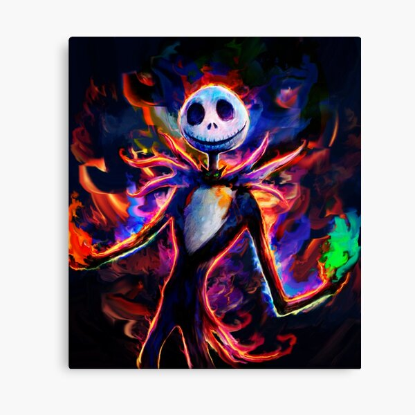 nightmare before christmas Canvas Print