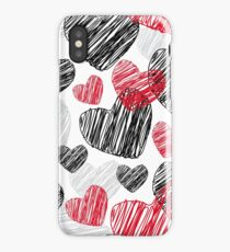 Lovely hearts iPhone Case/Skin