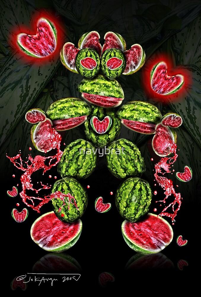 melon heart by navybrat