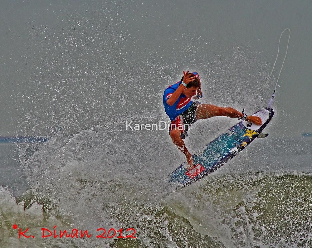Wahoo!!!  Surfer Action!! by KarenDinan