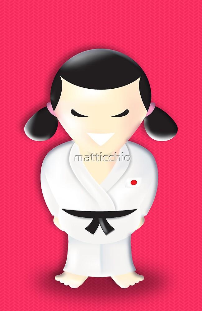 judo girl by matticchio
