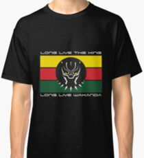 Black Panther Wakanda Flag Classic T-Shirt