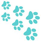 Cat Paws - Green by catloversaus