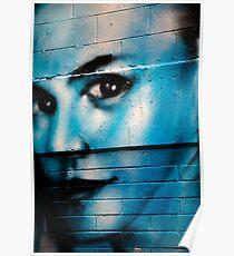Graffiti around Melbourne Poster