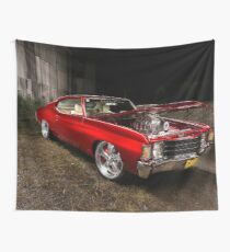 Ben's Chevrolet Chevelle Coupe Wall Tapestry