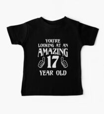 Birthday 17 year old Boy Girl Gift Kids Clothes