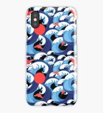 Abstract sea pattern iPhone Case/Skin