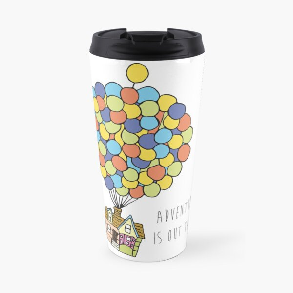 Adventure Is Out There Travel Mug
