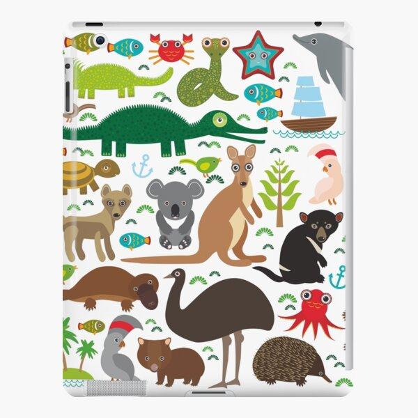 Australia: koala, snake, turtle, crocodile, kangaroo, dingo iPad Snap Case