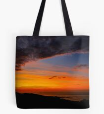 Sunset over the Atlantic - Glencolmcille, Ireland Tote Bag