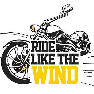 Ride like the wind by krishnesh