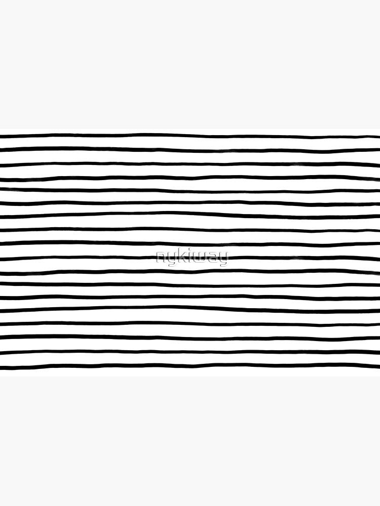 Black & White Stripes by nykiway