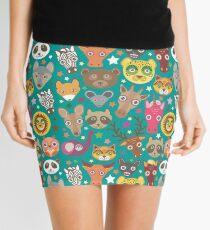 funny animals muzzle Mini Skirt