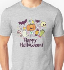 Happy Halloween! Cute Icons T-Shirt