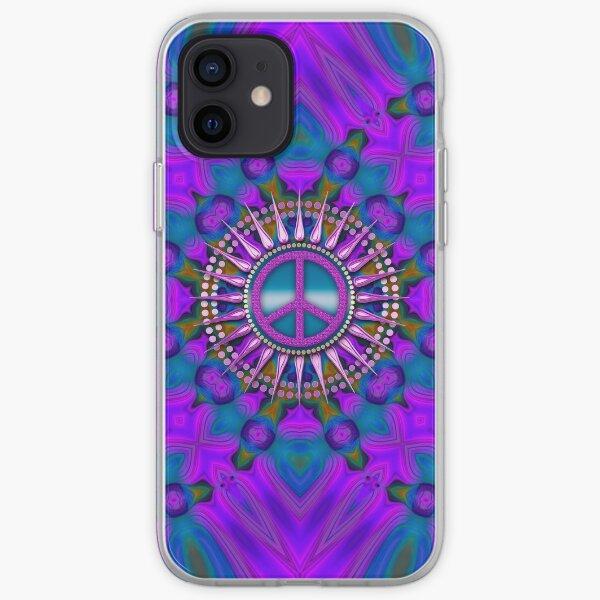 Purple Haze Peace Energy iPhone Soft Case