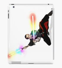 Rainbow Lightsaber Chirrut Imwe iPad Case/Skin