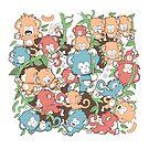 Monkey Doodles by wuhu