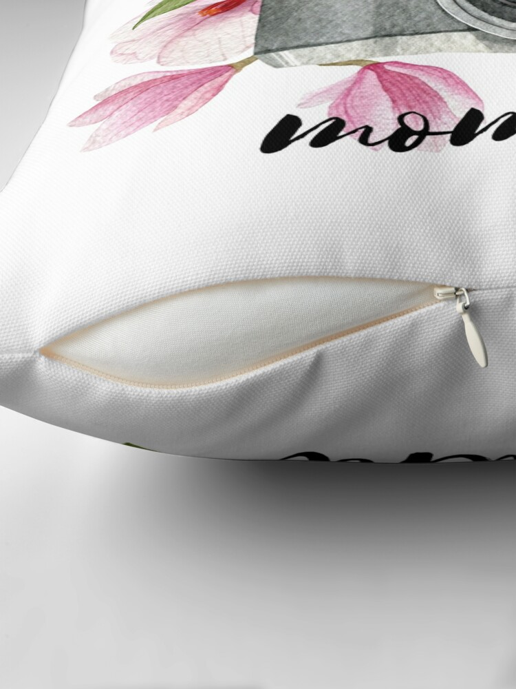 Alternate view of Capture the moment Throw Pillow