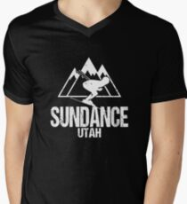 Sundance Utah Skiing Retro Distressed T-Shirt