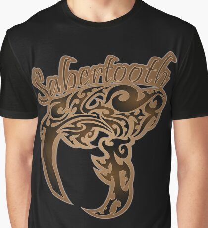 Saber-Tooth Graphic T-Shirt