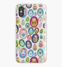 doll matryoshka iPhone Case/Skin
