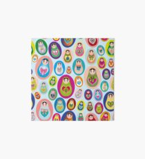 doll matryoshka Art Board