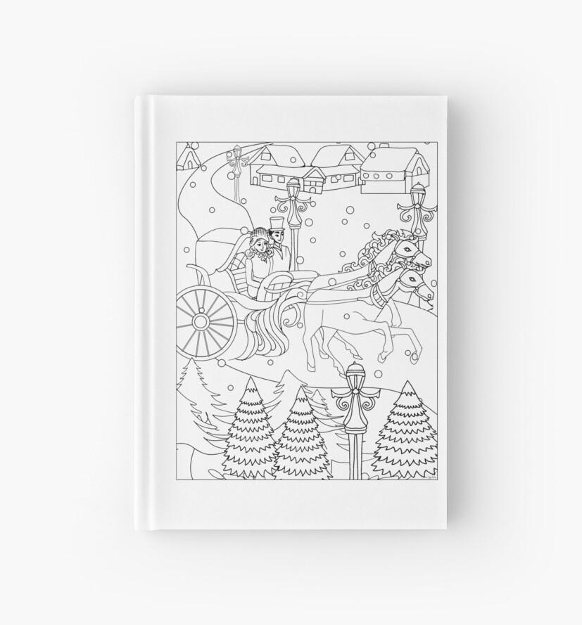 Cuadernos de tapa dura «Camiseta del país de las maravillas del ...