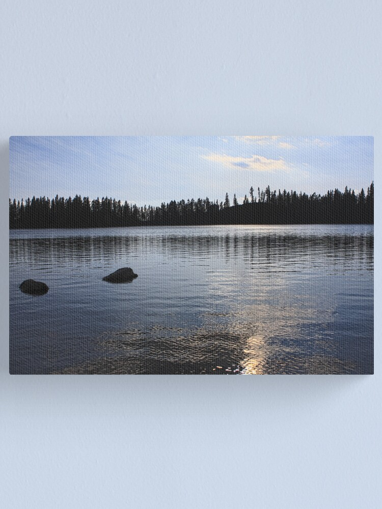 Alternate view of Sunset Over Strbske Pleso Canvas Print