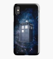 ThroughTime And Space iPhone Case/Skin