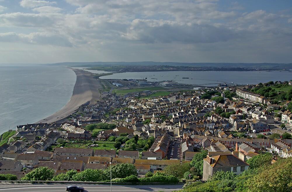 Portland Bay, Dorset by ludek