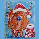 Hairy Christmas by TraceyMackieArt