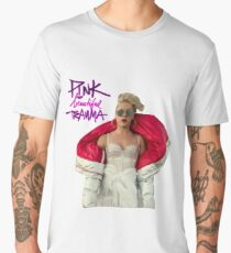 PINK beautiful trauma Men's Premium T-Shirt