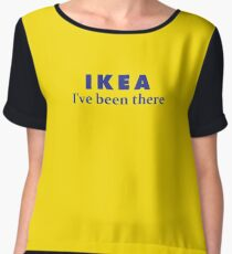 IKEA I've been there Line  Chiffon Top