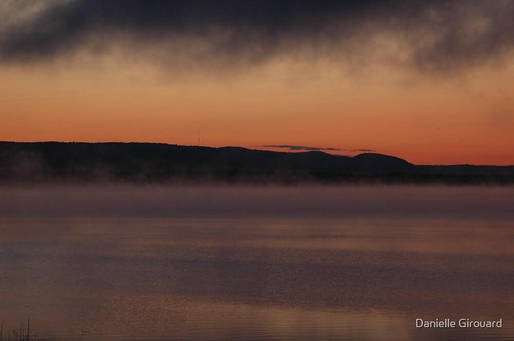 A foggy Sunrise by Danielle Girouard