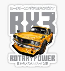 Mazda RX3 Sticker