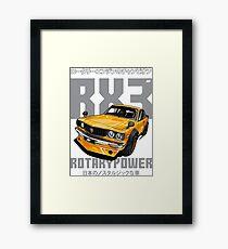 Mazda RX3 Framed Print