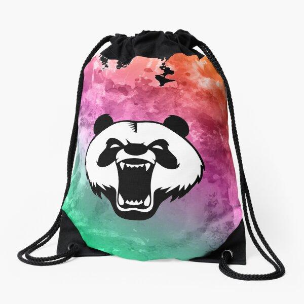 Roaring Panda  Drawstring Bag