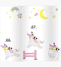 Mareep unicorn pokemon Poster