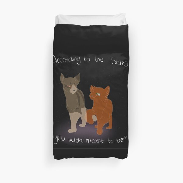 According to the stars... Duvet Cover