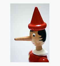 Pinocchio Photographic Print