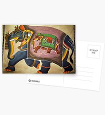Udaipur Elephant of India Postcards