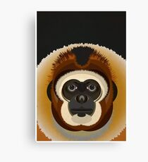 Monkey Digital Illustration Canvas Print