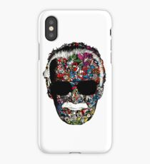 "Stan Lee ""Man of many faces"" iPhone Case/Skin"