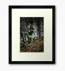 Don't cut me down! Framed Print