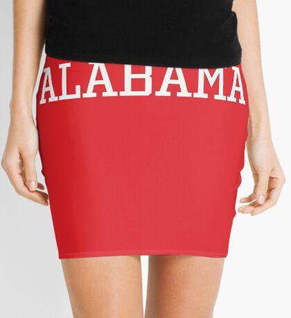 Alabama Athletic Style Mini Skirt