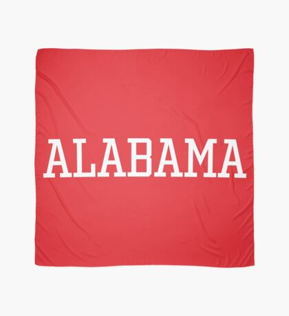 Alabama Athletic Style Scarf