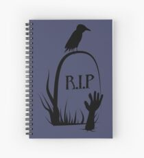 Rest In Peace Spiral Notebook