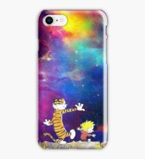 Calvin and Hobbes Nebula iPhone Case/Skin