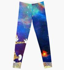 Calvin and Hobbes Nebula Leggings